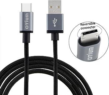 Otium 3.3ft Braided USB Type C Cable