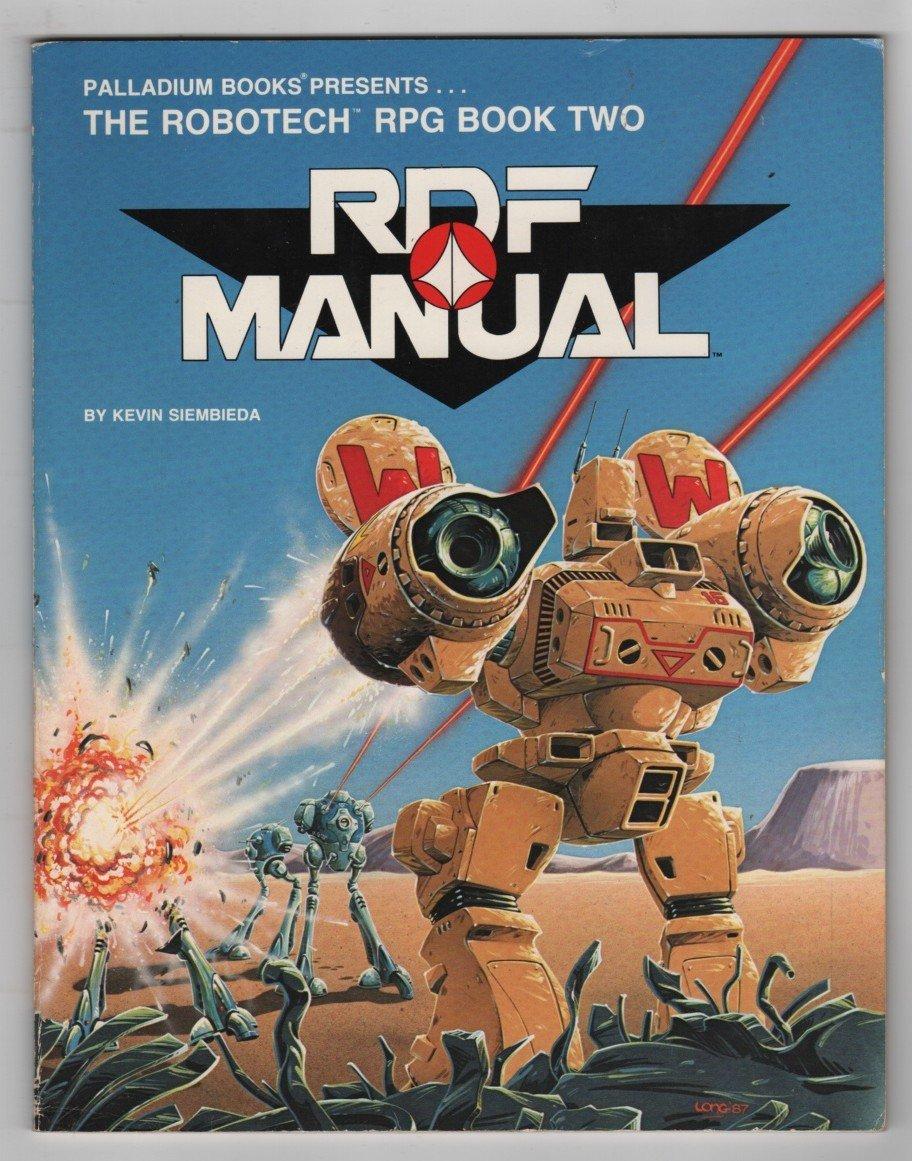 The RDF Manual (Robotech RPG Book 2): Kevin Siembieda: 9780916211233:  Amazon.com: Books