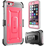 iPhone 6 Case, SUPCASE [Heavy Duty Belt Clip Holster] Apple iPhone 6 Case 4.7 inch [Unicorn Beetle PRO Series] Full-body Rugged Hybrid Protective Cover with Built-in Screen Protector, Dual Layer Design/Impact Resistant Bumper