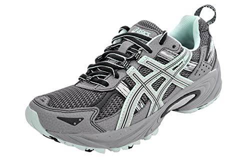 5803ca3996 ASICS Women's Gel-Venture 5 Running Shoe (6.5 B(M) US, Frost  Gray/Silver/Soothing Sea): Amazon.co.uk: Shoes & Bags