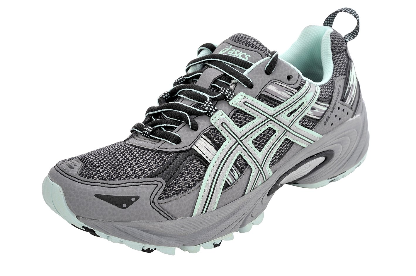 ASICS Women's Gel-Venture 5 Running Shoe (9.5 B(M) US, Frost Gray/Silver/Soothing Sea)