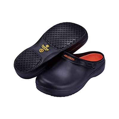 SensFoot Slip Resistant Chef Clogs for Kitchen Non Slip Work Shoes for Men Women: Shoes
