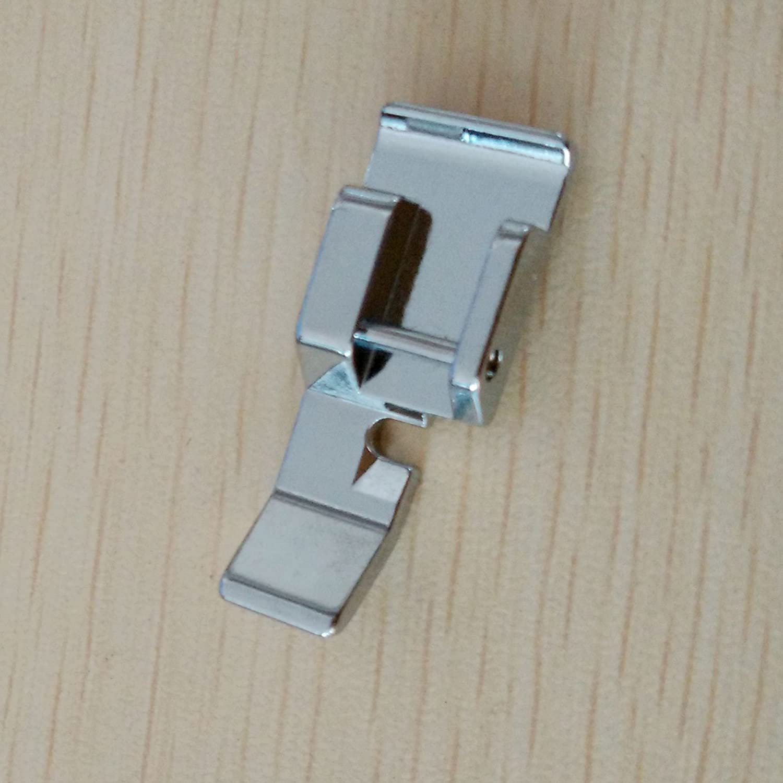 HONEYSEW 705L Adjustable Low Shank Rigid Zipper Foot Sewing Machine Feet Fit Brother Babylock SA161