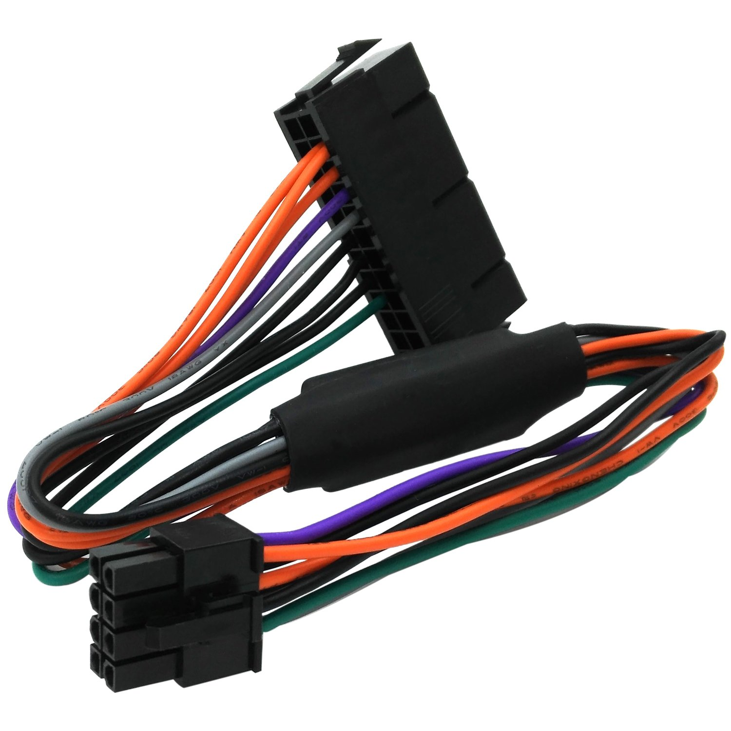 Comeap 24 Pin To 8 Atx Psu Power Adapter Cable 1000w Dell Supply Wiring Diagram Compatible With Optiplex 3020 7020 9020 Precision T1700 12 Inch30cm Computers