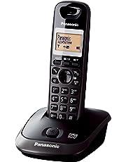 Panasonic KX-TG2521 Telefono Cordless DECT, Nero Titanio