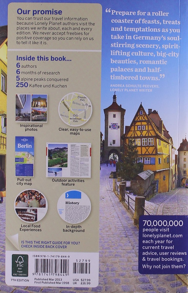 Lonely Planet Germany (Travel Guide): Amazon.co.uk: Lonely Planet ...