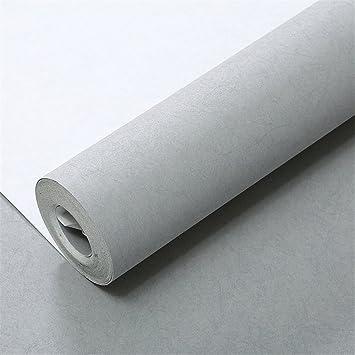 Minimaliste Mode Moderne Long Uni Tissu Uni Non Tisse Papier Peint