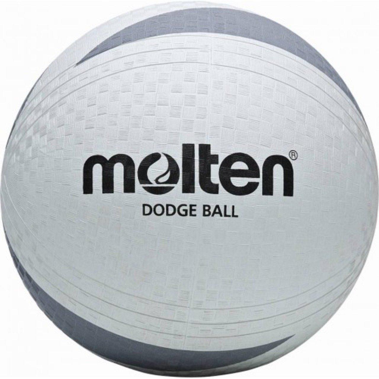 Molten Indoor/outdoor Sport Play Handball Soft Touch School Game Dodgeball White