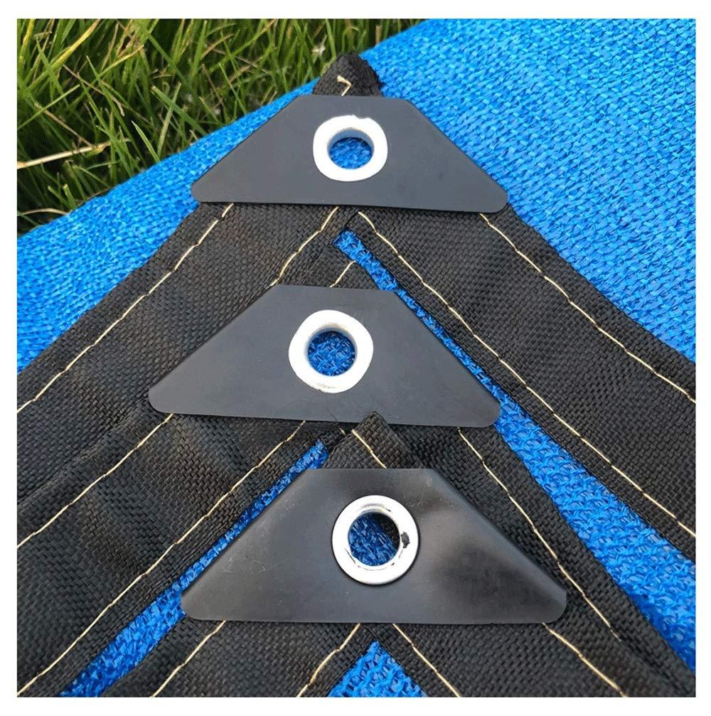Rete per tende tende tende da sole, reticolato da sole, reticella per prossoezione solare, tende in tela da tessuto tende, adatta per la privacy resistente ai raggi UV, possono essere scelte più dimensioni, blu B07K8RP9SF 68M Blu   Uscita    Aspetto Attraente 553b8b