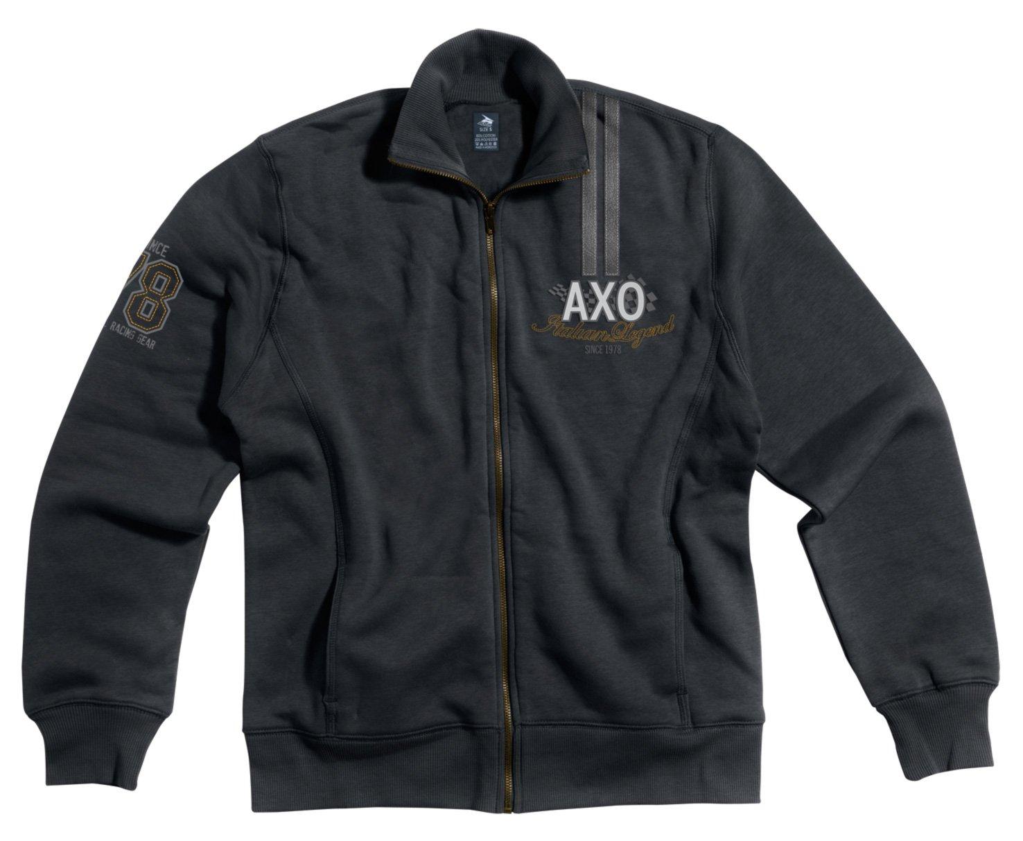 AXO Casual sudadera, color Negro/Blanco, talla XXL AXO INTERNATIONAL SRL FT5T0098-K00