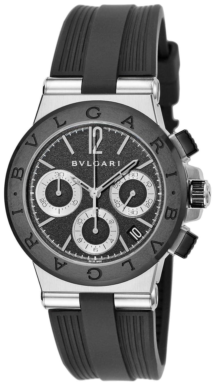 [ブルガリ]BVLGARI 腕時計 ディアゴノ ブラック文字盤 DG37BSCVDCH メンズ 【並行輸入品】 B0195E25S6