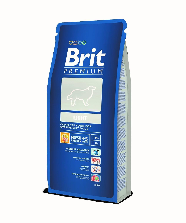 BRIT Premium Light Croquette pour Chien 15 kg 8594031449485
