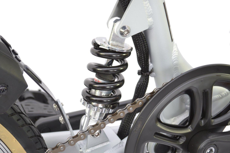 Viking Hiko - Bicicleta eléctrica plegable con un diseño de cuadro 36 C de aleación ligera de 40 cm y batería de 8,8 Ah: Amazon.es: Deportes y aire libre