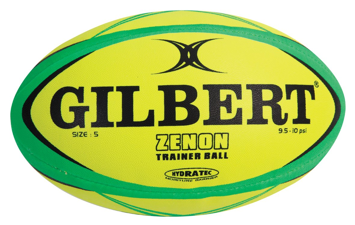 Gilbert Zenon - Balón de entrenamiento de rugby Fluoro Talla ...