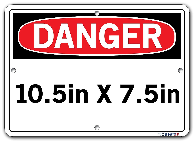 ENTRADA LIMITADA SOLO A PERSONAL AUTORIZADO 18.5X12.5 ALUM COMP .130 Vestil Spanish Danger Sign SI-D-66-D-AC-130-S Admittance Limited to Authorized Personnel Only