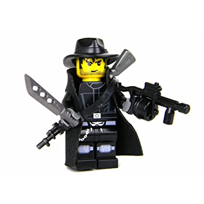 Battle Brick Post Apoc Hunter (SKU75) Custom Minifigure: Toys & Games