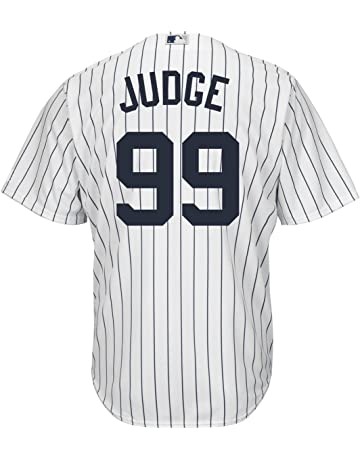 e1b3241bd10 Outerstuff Aaron Judge New York Yankees #99 Youth Cool Base Home Jersey