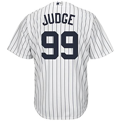 Outerstuff Aaron Judge New York Yankees  99 Youth Cool Base Home Jersey  (Youth Small f1b175d3cad