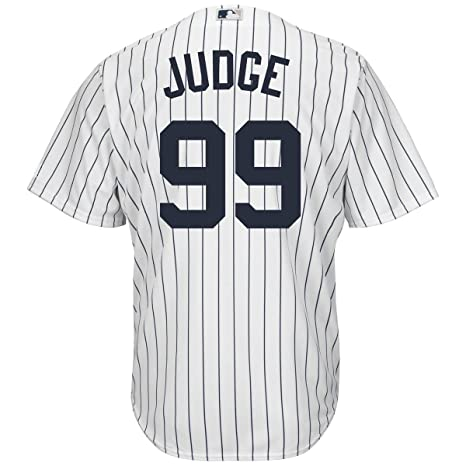98d0b0a2c Outerstuff Aaron Judge New York Yankees  99 Youth Cool Base Home Jersey  (Youth Small