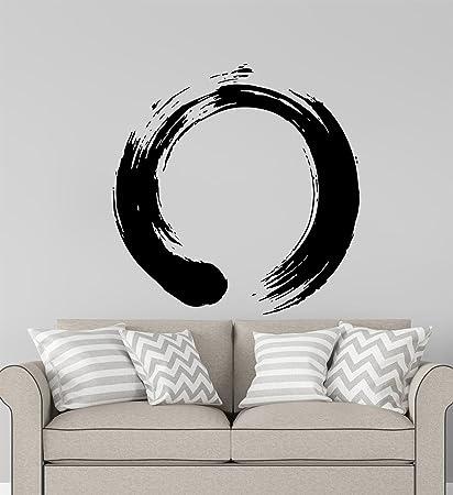 Amazon.com: Advanced store Wall Vinyl Decal Zen Circle Wall ...