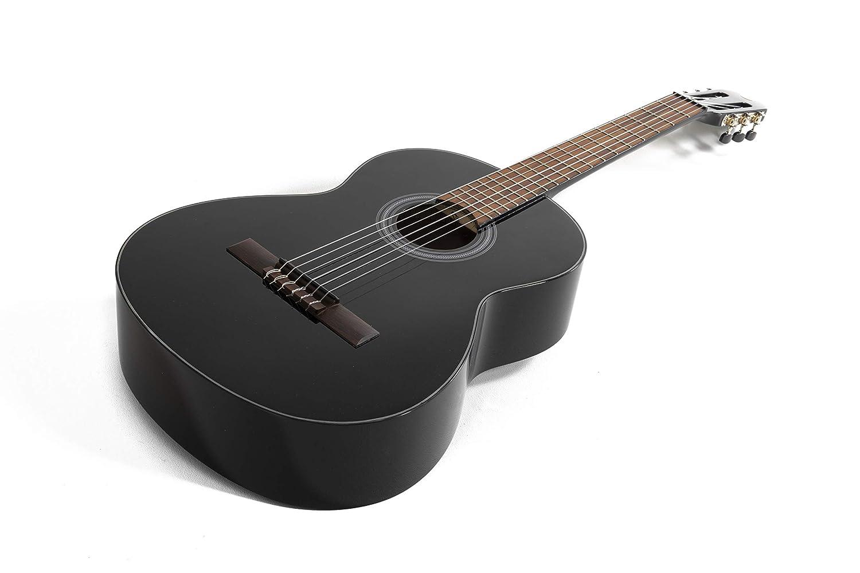 NAVARRA special dark moon NV142 nero chitarra classica 4//4