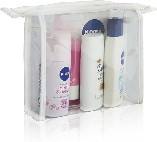 Nivea – Pack de viaje mini bolsa de regalo Set – Desodorante Lip Balm Gel de ducha y crema: Amazon.es: Salud y cuidado personal