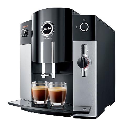 Jura IMPRESSA C55 Platin Independiente Totalmente automática Máquina espresso 1.9L Negro, Platino - Cafetera
