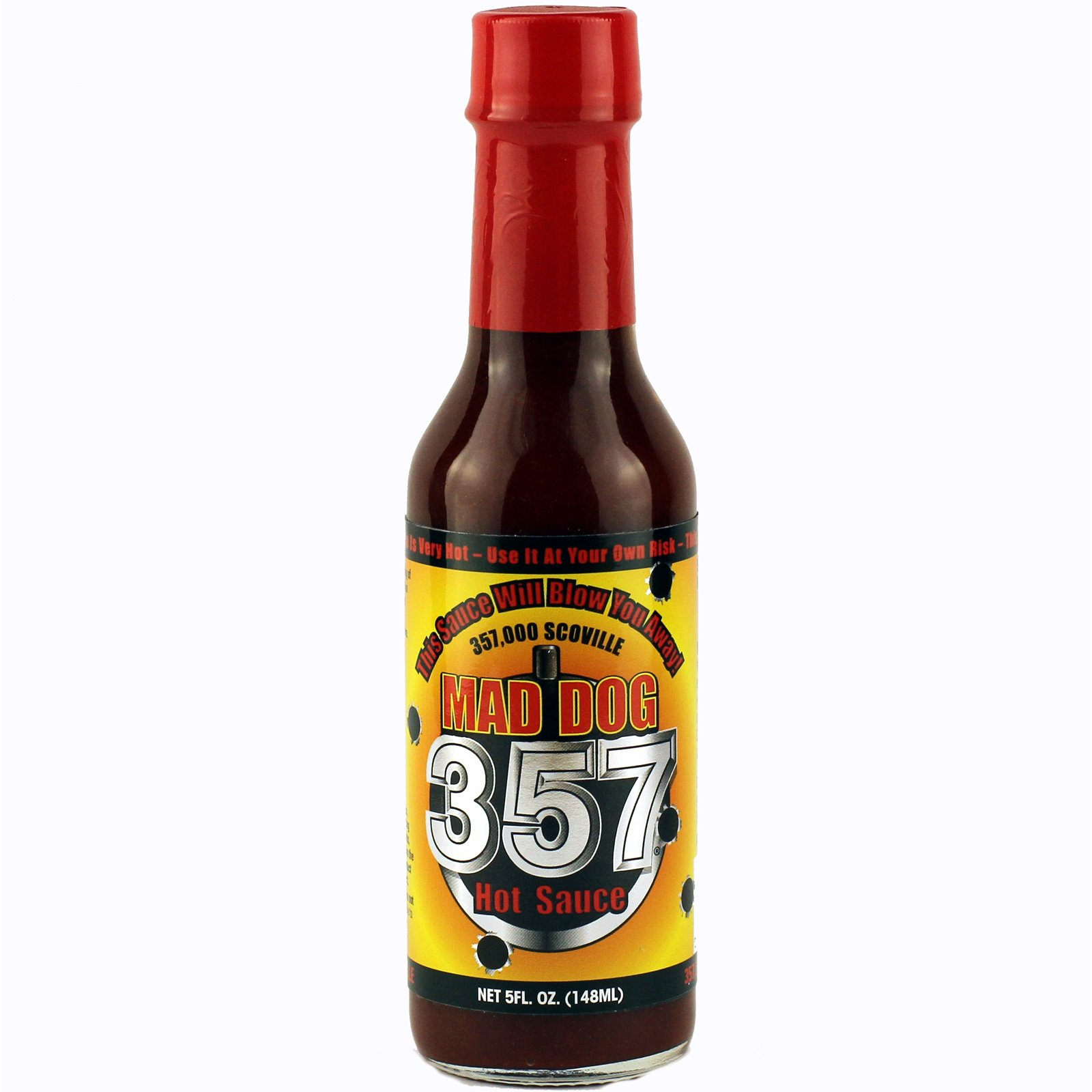 Mad Dog 357 Hot Sauce, 5 Ounce