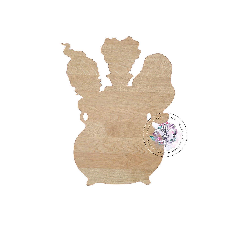 Amazoncom Marthafox Hocus Pocus Blank Wooden Cutout Unfinished