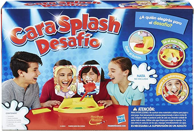 Cara Splash Desafio - Hasbro Gaming (Hasbro C0193105): Amazon.es: Juguetes y juegos