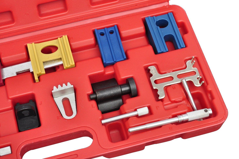 Kit de herramienta de bloqueo de ajuste de distribución del motor 19 pieza: Amazon.es: Bricolaje y herramientas