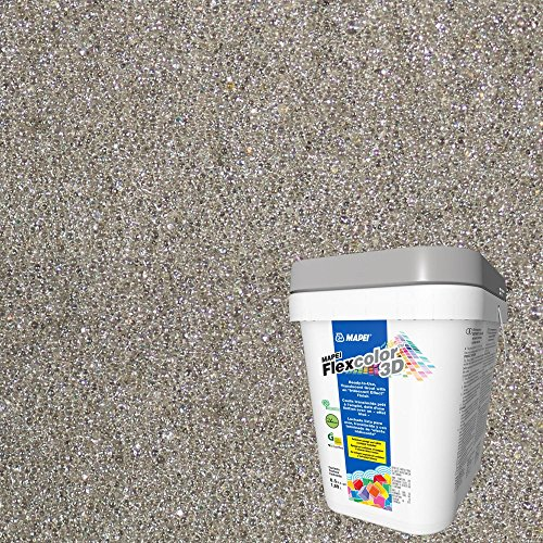 Mapei 204 Pure Steel FlexColor 3D Pre-Mixed Grout by Flexcolor 3D