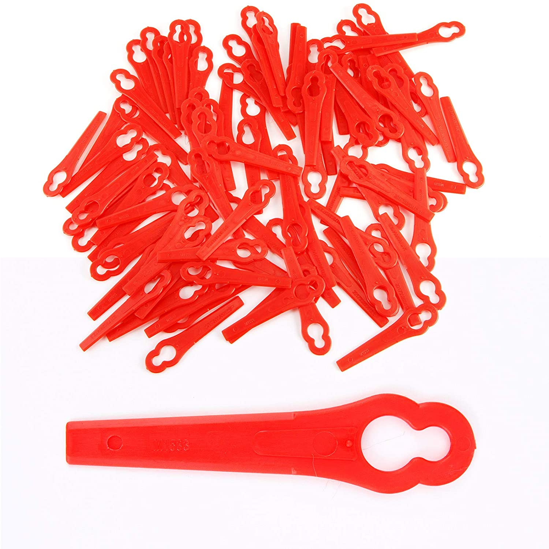 100 X Plástico Cuchilla Desbrozadora (Elek trosense Cuchilla ...