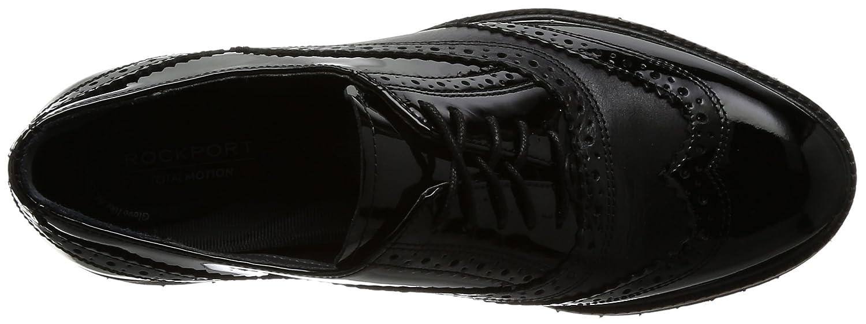 Rockport Damen Total Sneaker Motion Abelle Wing Tip Sneaker Total Schwarz a3f56a