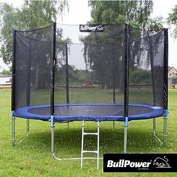BullPower Cama elástica para Exterior, trampolín de jardín para ...