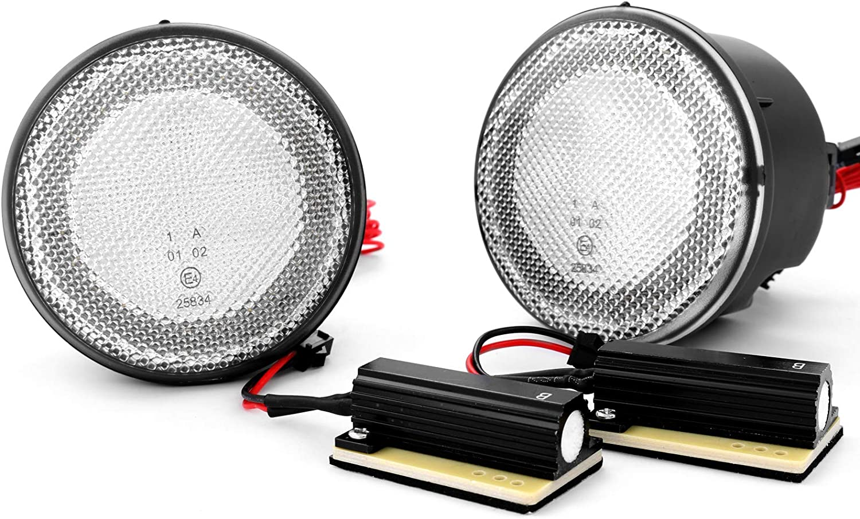 Intermitente LED intermitente frontal con luz de posici/ón con autorizaci/ón