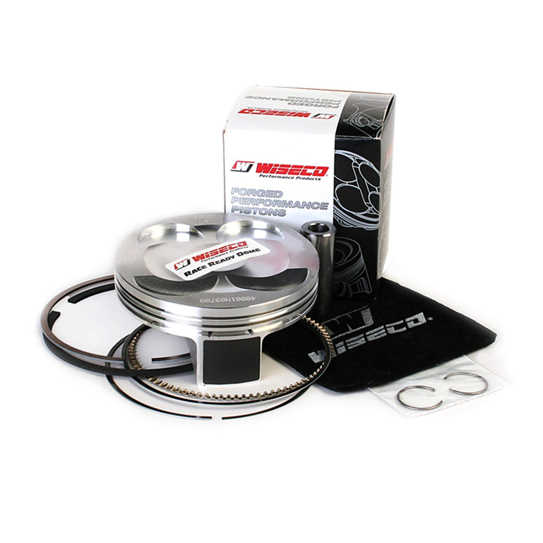 Piston Kit - Standard Bore 97.00mm, 12.5:1 Compression For 2011 Yamaha YZ450F Offroad Motorcycle by RD - Wiseco