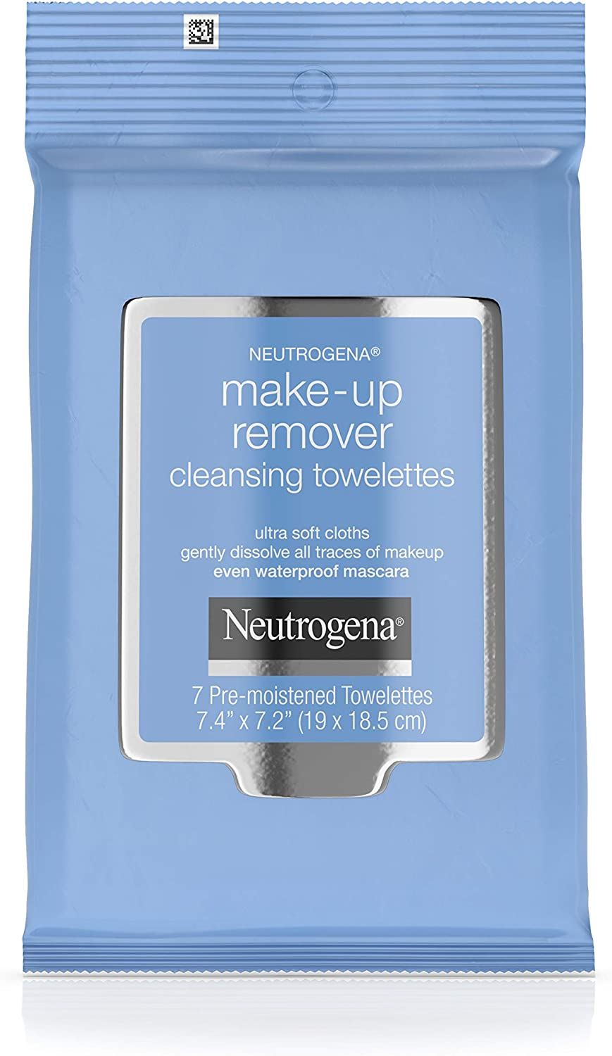Neutrogena Makeup Remover Cleansing Towelettes - 7 per Pack - 24 Packs per case.