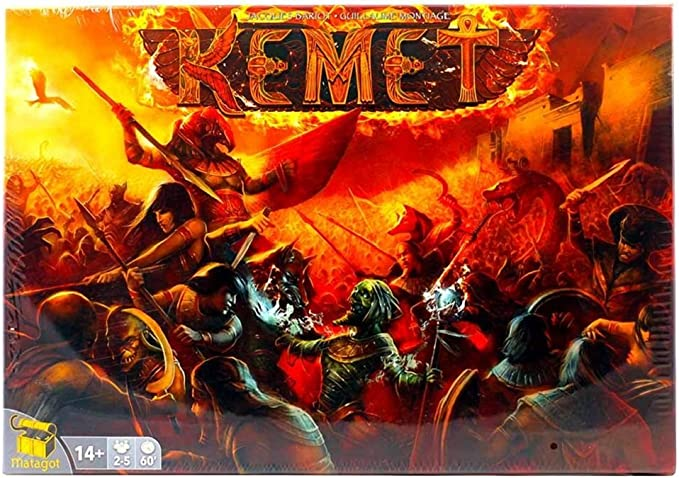 Kemet - Juego de Mesa (Matagot MTG642041) (Importado): Amazon.es: Juguetes y juegos