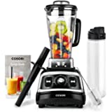 COSORI Blender(Recipe Book Included)1500W for Shakes and Smoothies, High Speed Smoothie Blender Maker with Variable Speeds, 72oz BPA-Free Pitcher & 27oz Bottle, UL & FDA Certified,2-Year Warranty