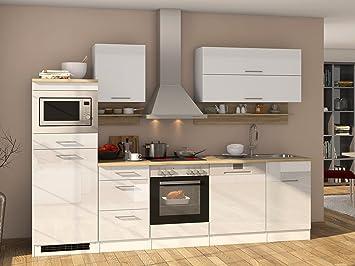 Küchenzeile Küche Küchenblock Einbauküche Küchen-Set ...