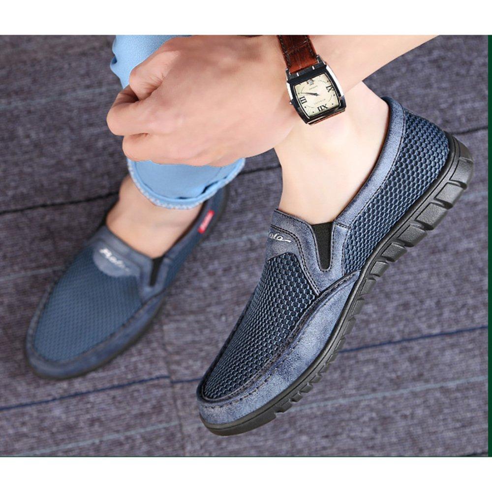 Sommer-beiläufige Schuhe Der Männer Mittleres Gealtertes Gealtertes Gealtertes Breathable Weiche Schuhe Vati-Schuhe  d100a7