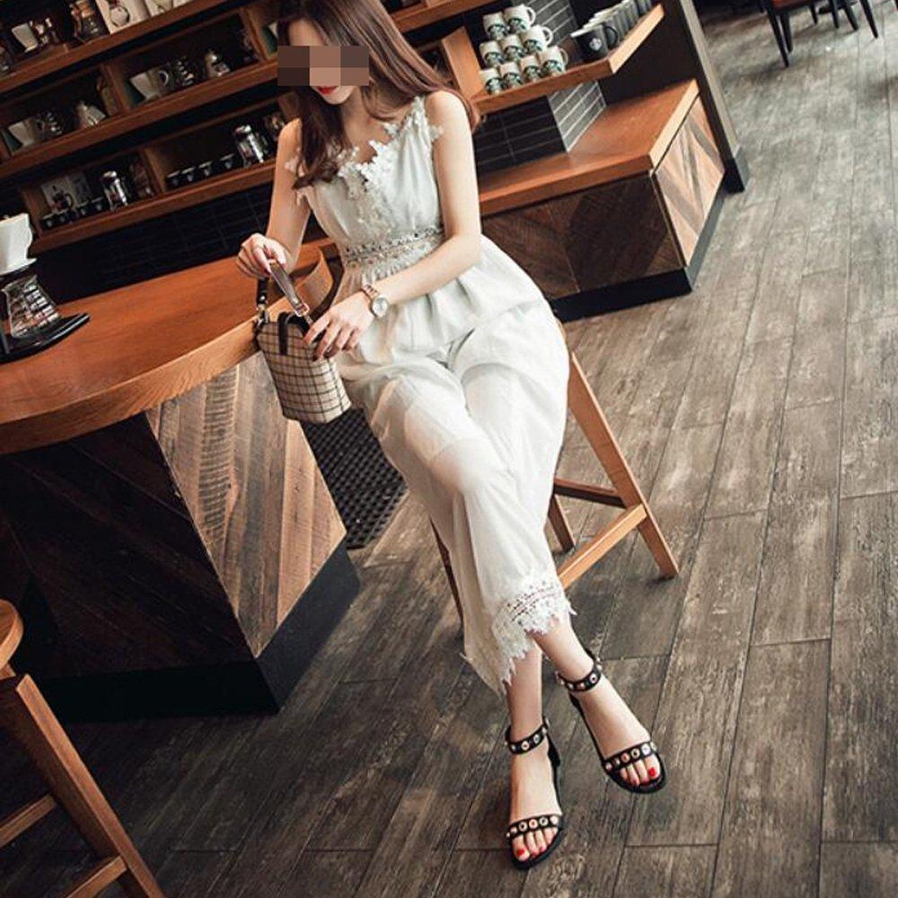Sandalen, Flat Heels, Bänder, Fashion Strass, Pailletten, Sandalen, College Fashion Bänder, Schuhe Schwarz 8c6c45