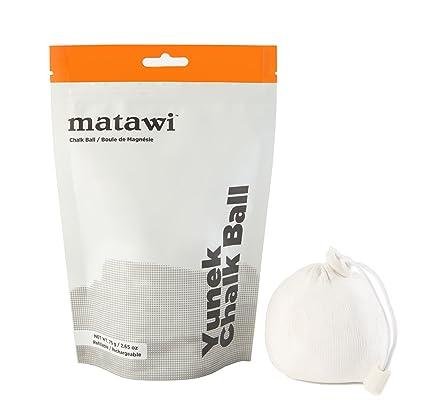 Amazon.com: Matawi Yunek – Bolsa de tiza recargable con ...