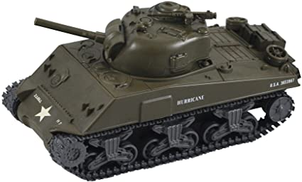 Amazon com: InAir Classic Armour E-Z Build M4A3 Sherman Tank