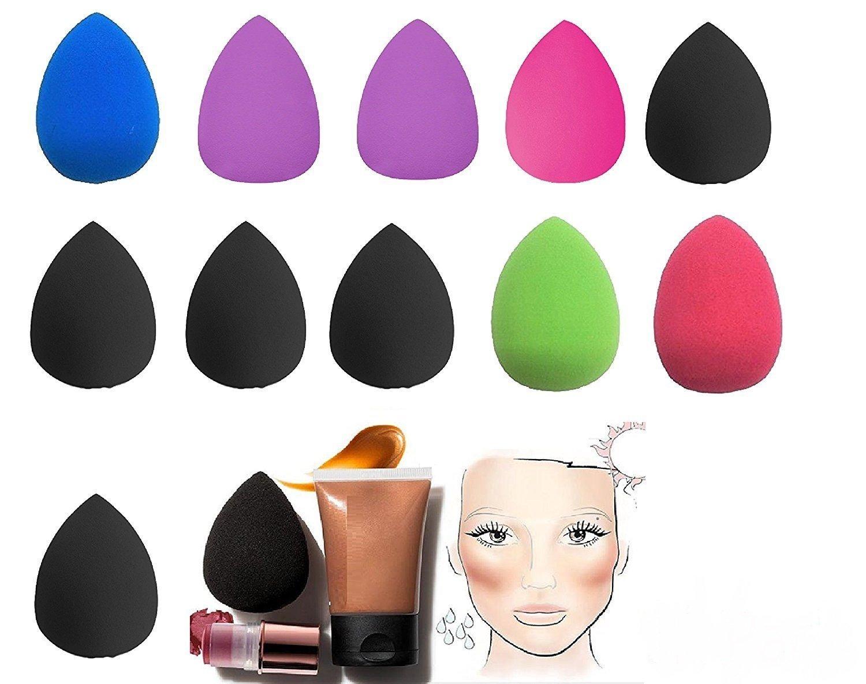 120 COUNT Makeup Foundation Sponge Blender Blending Puff Flawless Powder Smooth Beauty