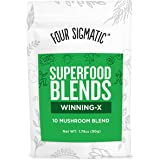 Four Sigma Foods Winning-X Blend Superfoods, Mushroom, 2.12 Ounce