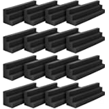 JBER Column Acoustic Wedge Studio Foam Corner Block Finish Corner Wall in Studios or Home Theater (16 Pack)…