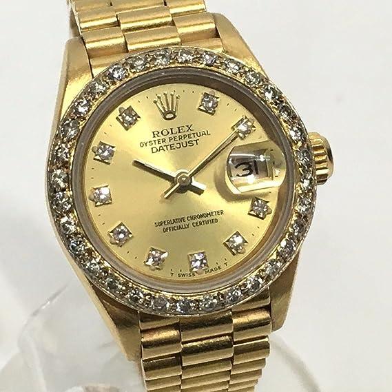 wholesale dealer 49473 39e32 Amazon   (ロレックス)ROLEX 69178G デイトジャスト 10Pダイヤ ...