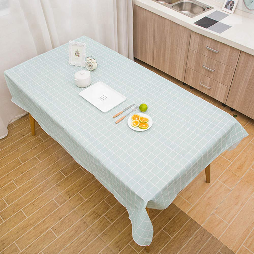 Longay 大きな長方形テーブルカバー 布地拭き掃除 パーティーテーブルクロスカバー パーティー装飾 グリーン ZYF80921511  グリーン B07JB9T836